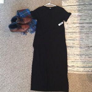 Old Navy NWT black long dress